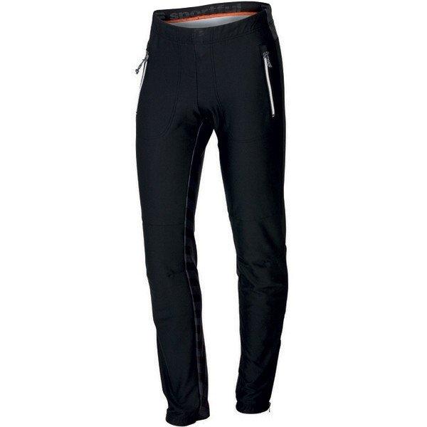 Černé softshellové pánské kalhoty Sportful - velikost XXL