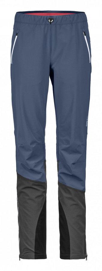 Modré dámské lyžařské kalhoty Ortovox - velikost M