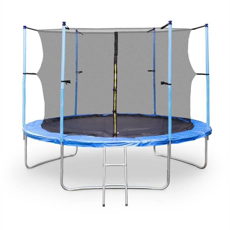 Kruhová trampolína s ochrannou sítí Klarfit - průměr 305 cm