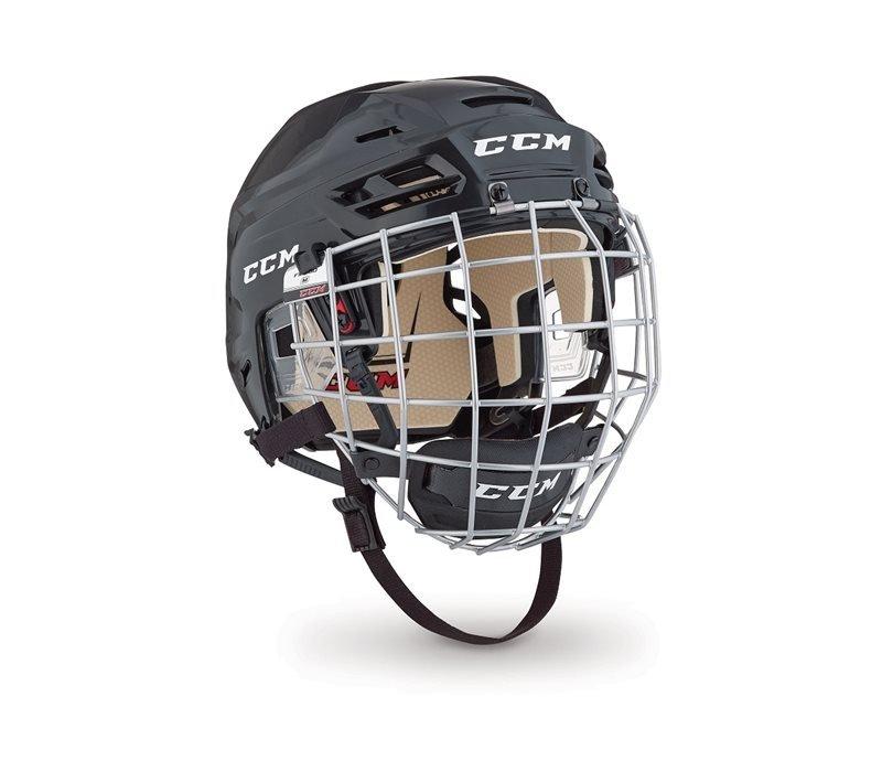 Černá hokejová helma (senior) CCM - velikost 51-56 cm ... 23dc2ec717