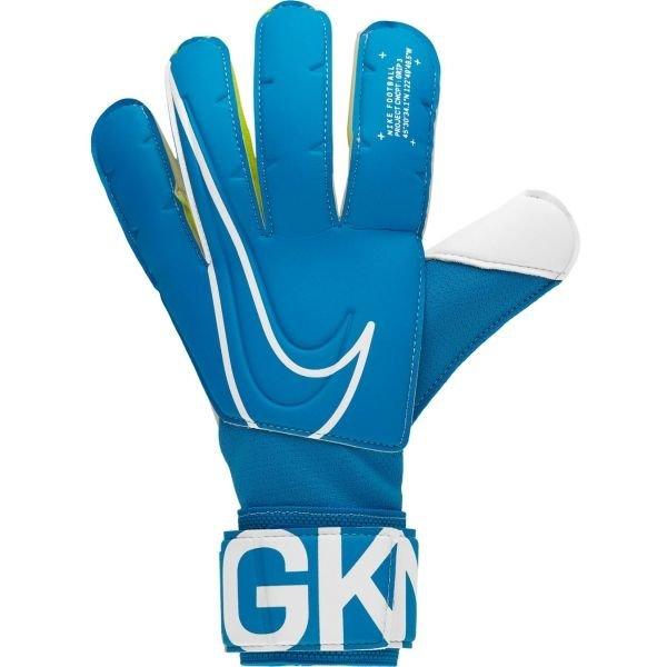 Modré pánské brankářské fotbalové rukavice Nike