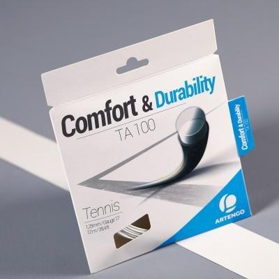 Bílý tenisový výplet Artengo - průměr 1,25 mm