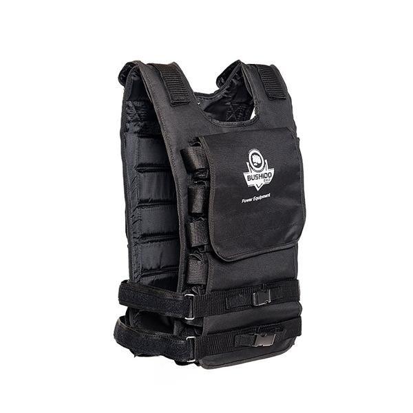 Černá zátěžová vesta DBX, Bushido - 36 kg