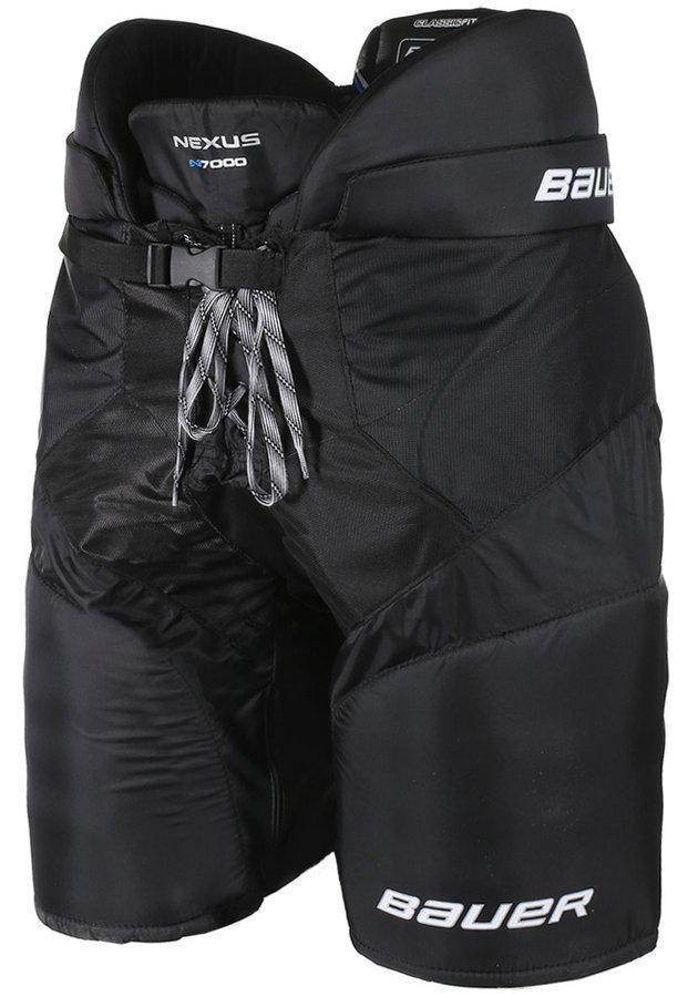 Černé hokejové kalhoty Bauer
