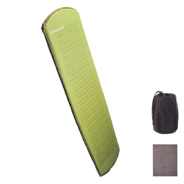 Zelená samonafukovací karimatka King Camp - tloušťka 2,5 cm