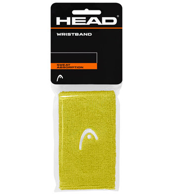 Žluté tenisové potítko Head - 2 ks