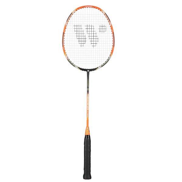 Černo-oranžová raketa na badminton Wish - délka 66,5 cm