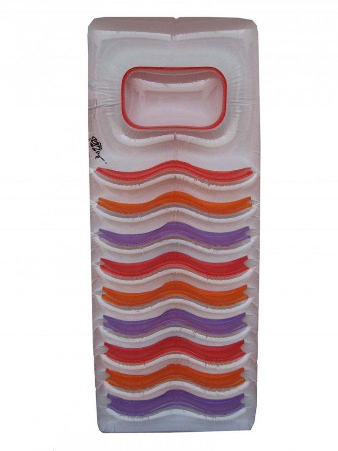 Transparentní dětské nafukovací lehátko Dolvor - délka 188 cm a šířka 71 cm