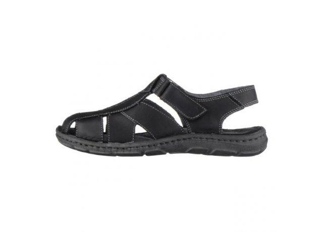 Černé sandály AZA