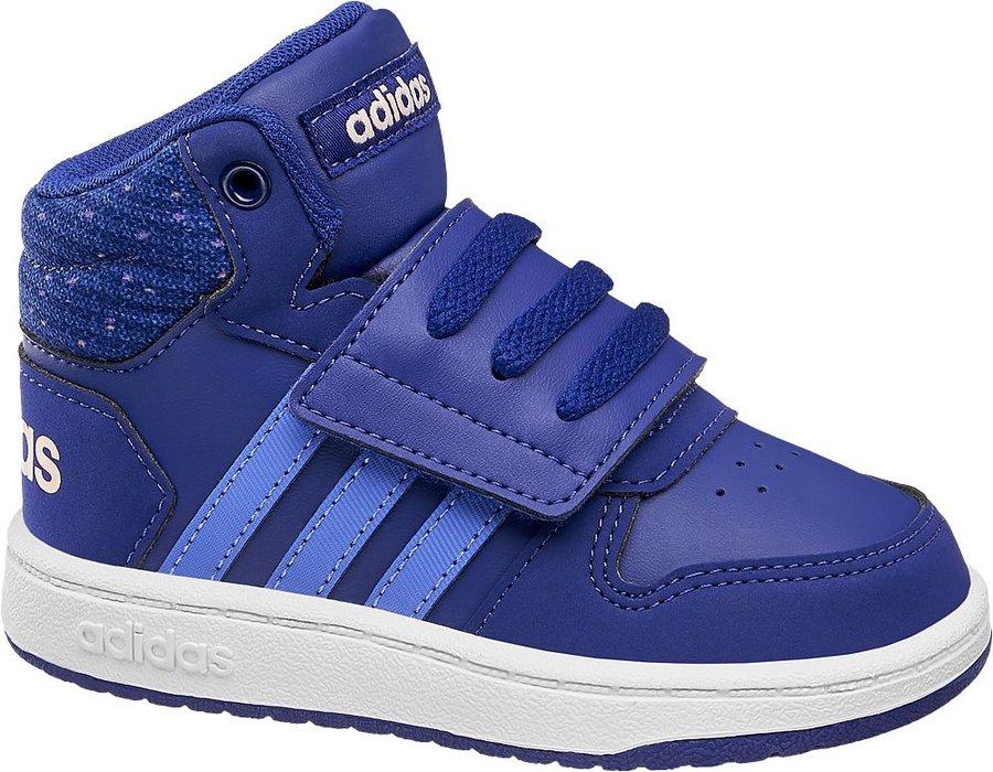 Modré dětské tenisky Adidas - velikost 22 EU