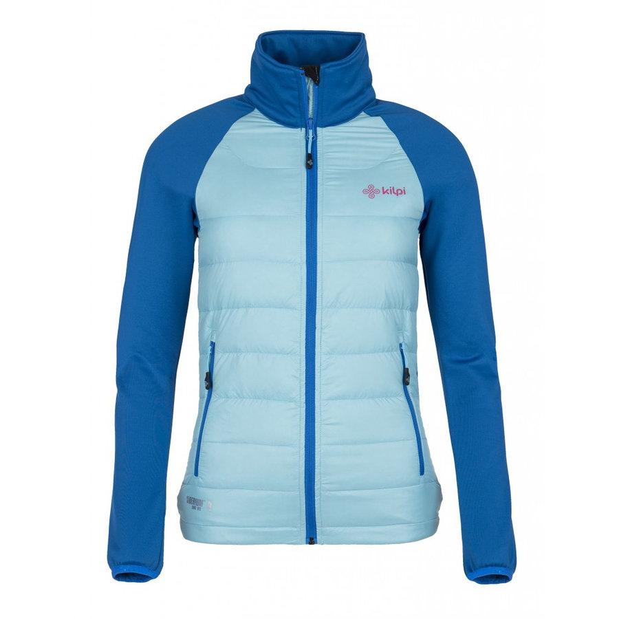 Modrá peřová dámská bunda Kilpi - velikost XL