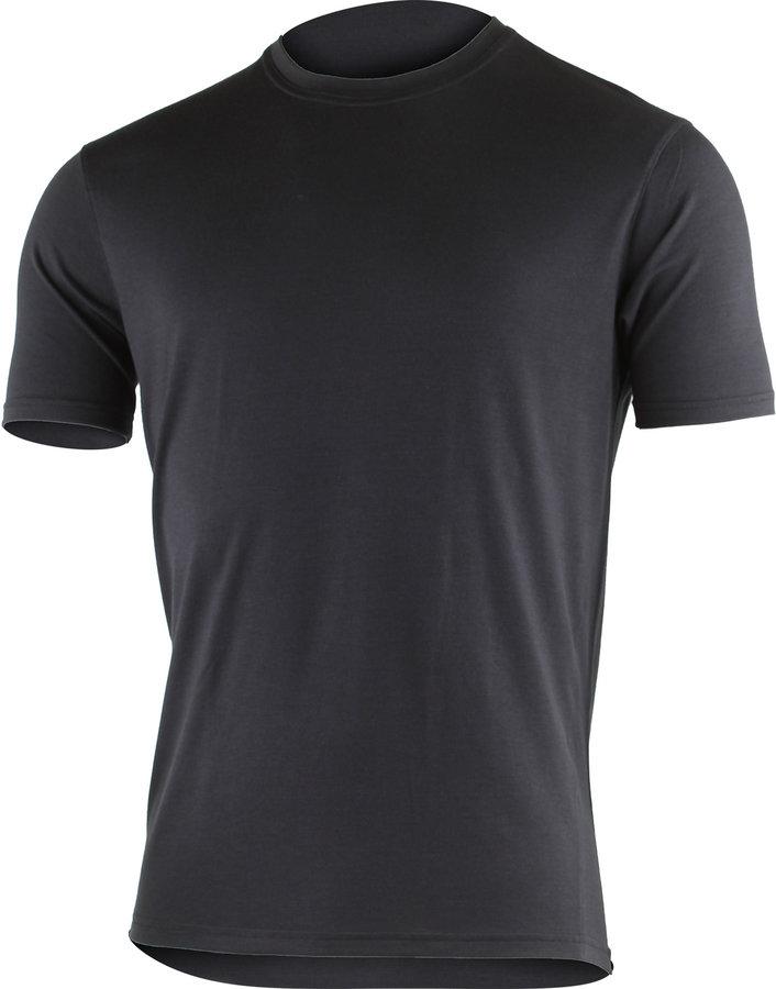 Černé pánské tričko s krátkým rukávem Lasting - velikost XXL
