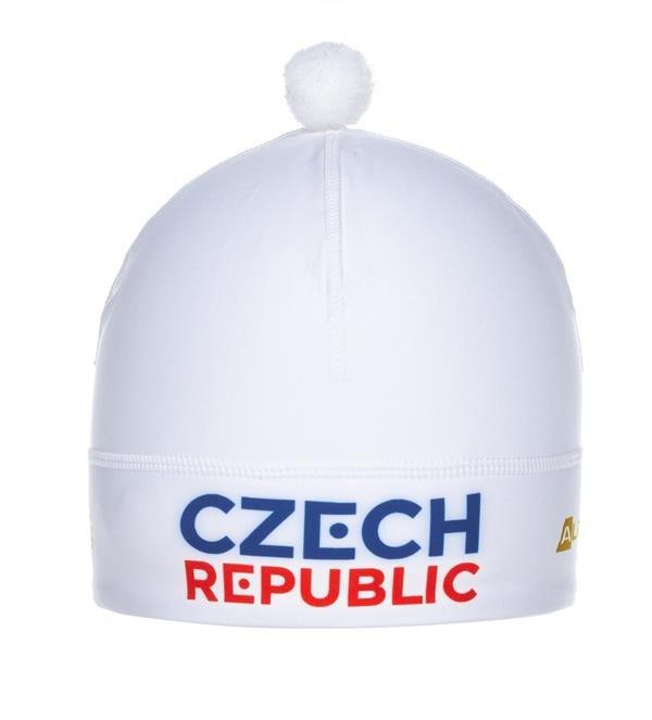 Bílá zimní čepice Alpine Pro