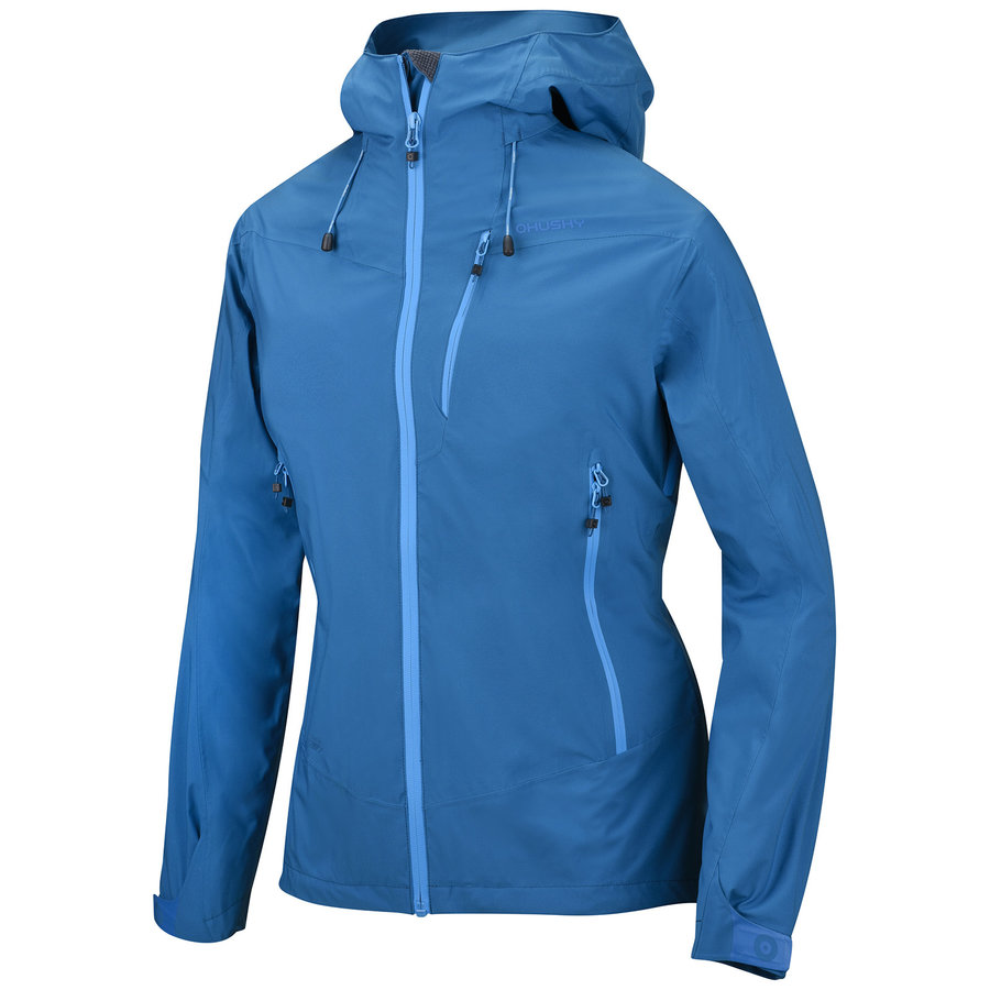 Modrá hardshellová dámská bunda Husky