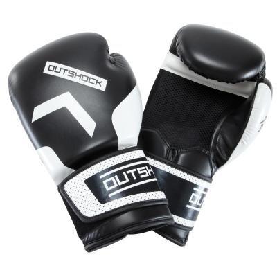 Černé boxerské rukavice Outshock