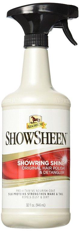 Lesk - ShowSheen Lesk a Rozčesávač s rozprašovačem 946ml Absorbine