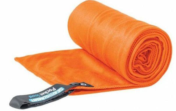 Ručník - Ručník Sea to Summit Pocket Towel S Barva: oranžová