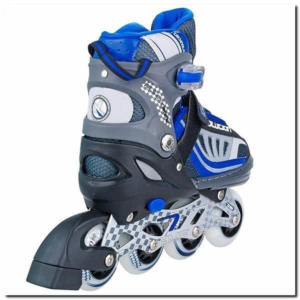 Modré kolečkové brusle Nils Extreme - velikost 30-33 EU