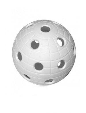 Bílý florbalový míček Crater, Unihoc