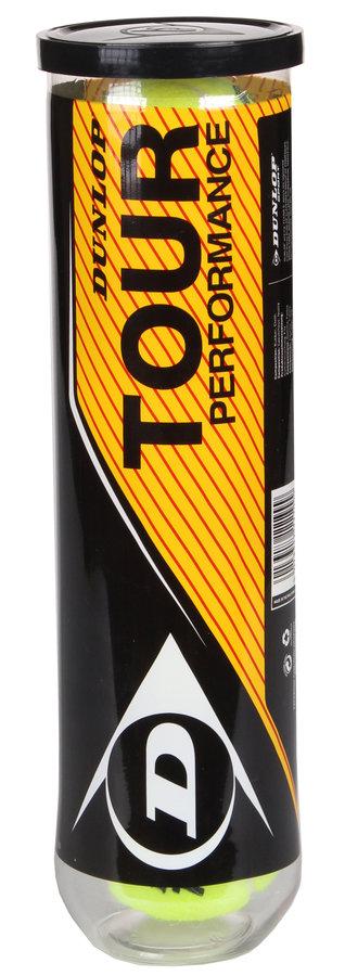 Tenisový míček Tour Performance, Dunlop - 4 ks