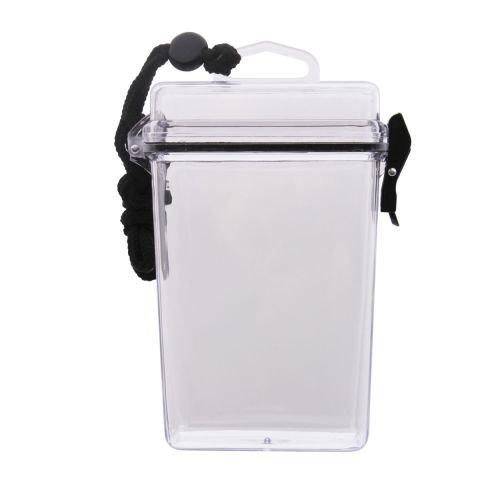 Vodotěsné pouzdro - Pouzdro vodotěsné SPORT plastové PRŮHLEDNÉ