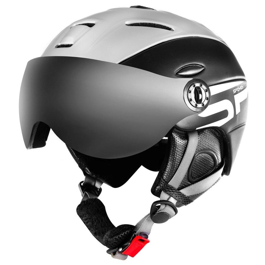 Černá lyžařská helma Spokey