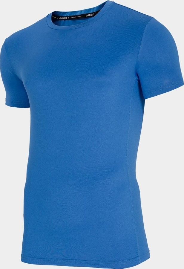 Modré pánské funkční tričko s krátkým rukávem Outhorn