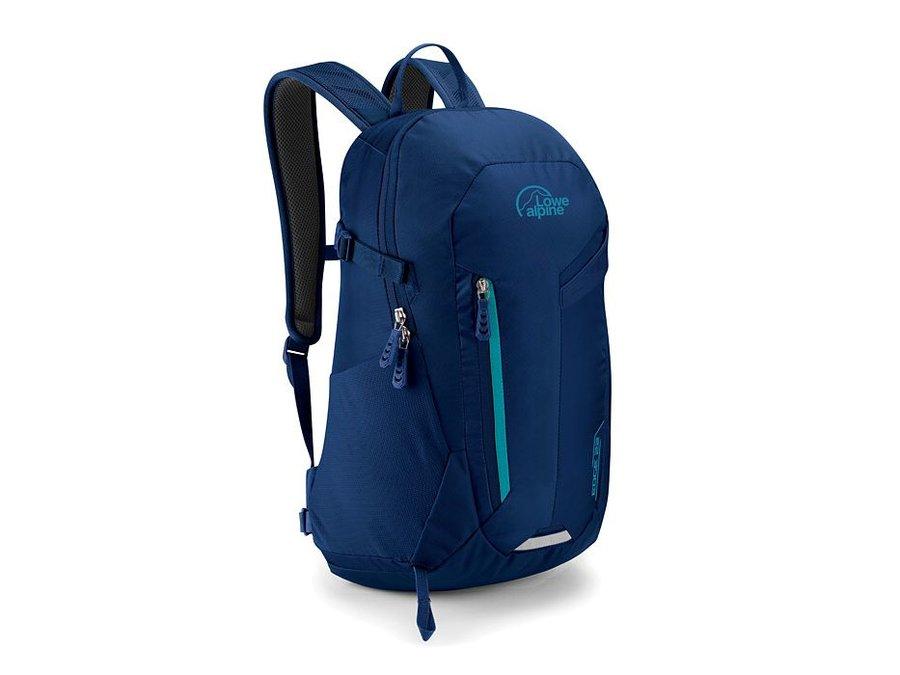 Modrý turistický batoh Lowe Alpine - objem 22 l