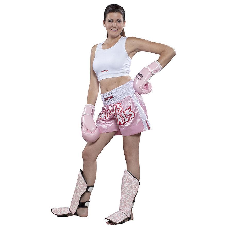 Růžové thaiboxerské trenky Top Ten
