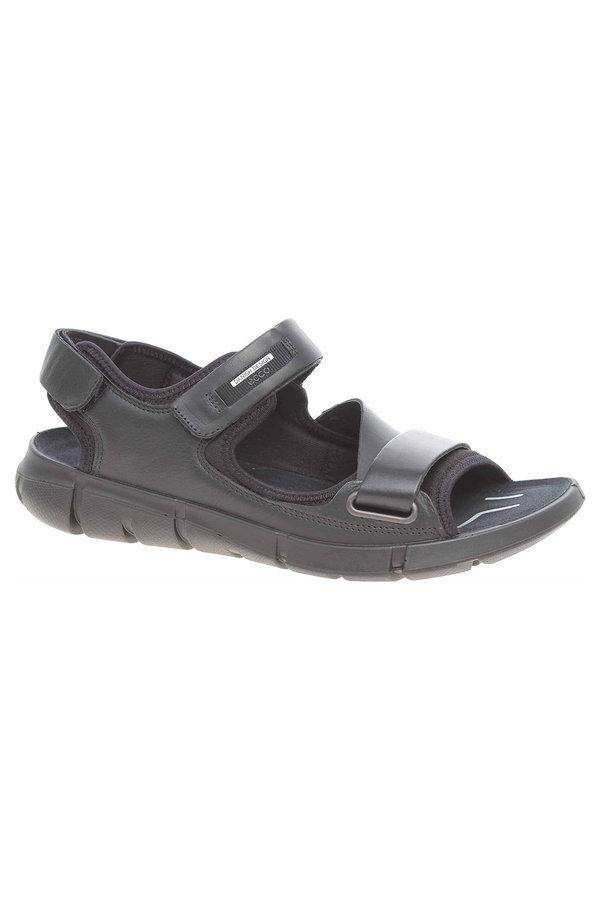 Sandály - Pánské sandály Ecco Intrinsic Sandal 84205451052 black-black 84205451052 43