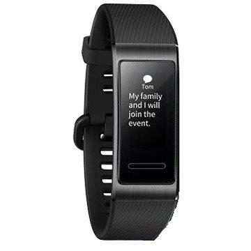 Černý fitness náramek Band 3 Pro, Huawei