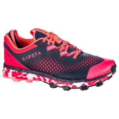 Růžové dámské boty na pozemní hokej Kipsta