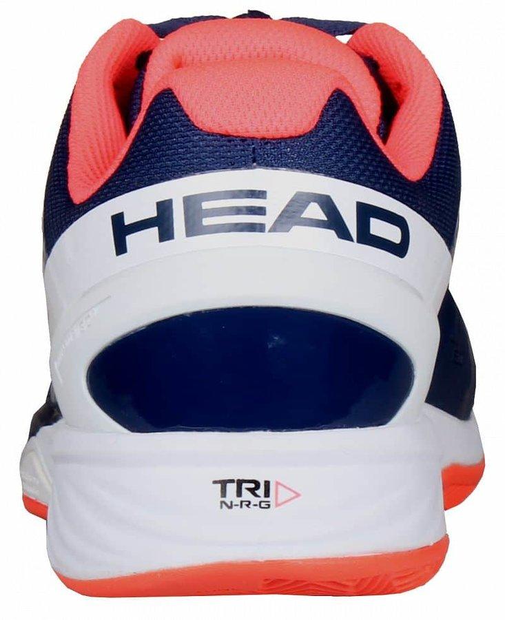 Modro-růžová pánská tenisová obuv Nzzzo Pro Clay, Head - velikost 38,5 EU