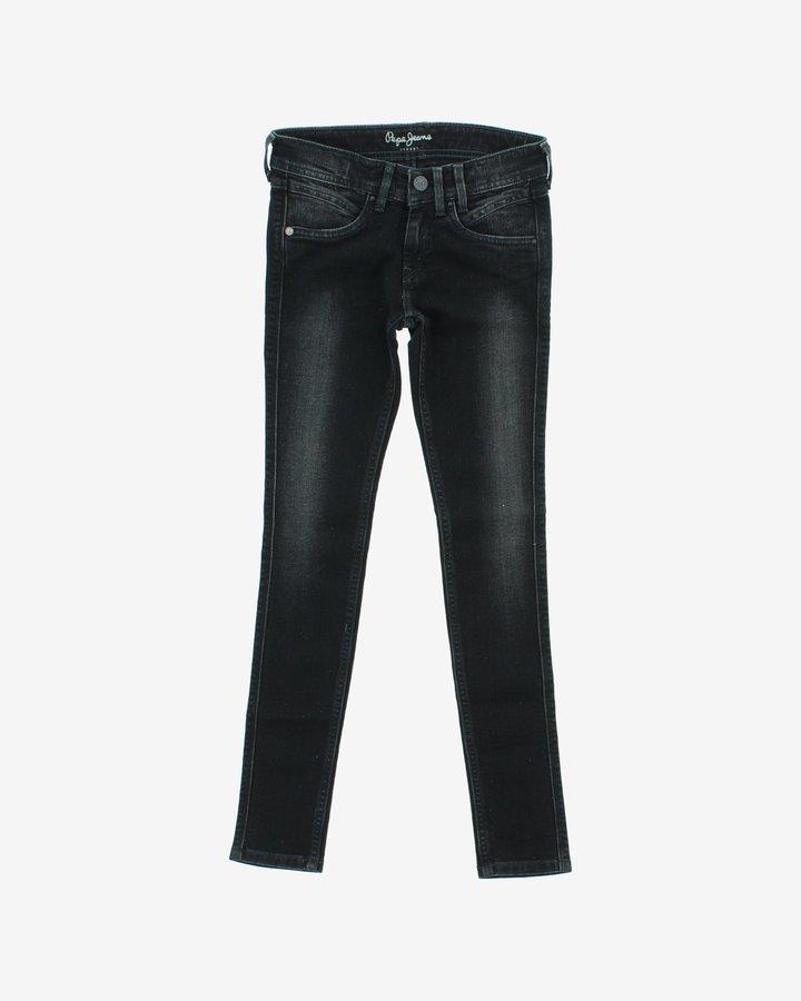 Černé dívčí džíny Pepe Jeans