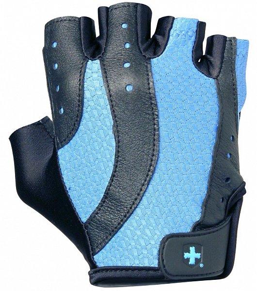 Modré dámské fitness rukavice Harbinger