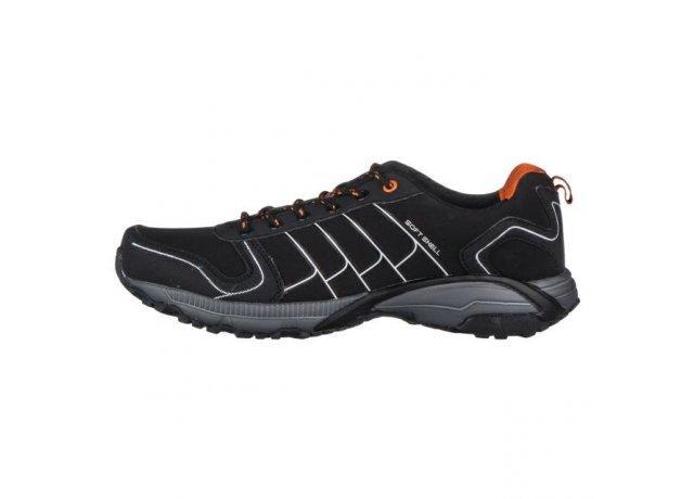 Černé pánské trekové boty EFFE TRE