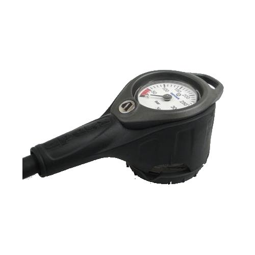 Manometr - Manometr 360bar/kompas Apeks šedá