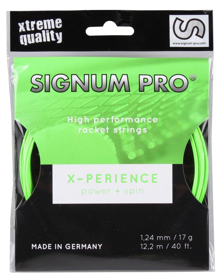 Tenisový výplet Pro X-perience, Signum