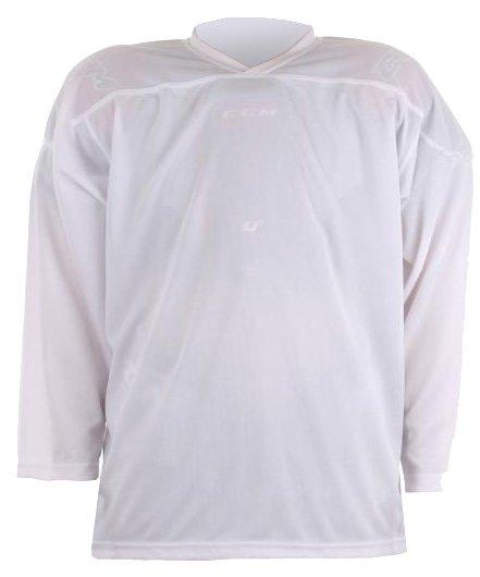 Bílý unisex hokejový dres HD-2, Merco