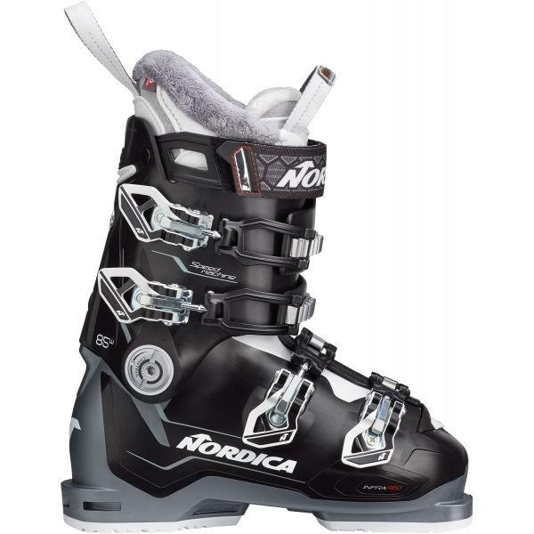 Černé dámské lyžařské boty Nordica - velikost vnitřní stélky 26 cm