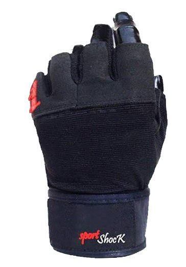Černé pánské fitness rukavice YOWA
