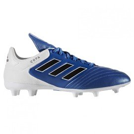 Bílo-modré kopačky lisovky COPA 17.3 FG, Adidas