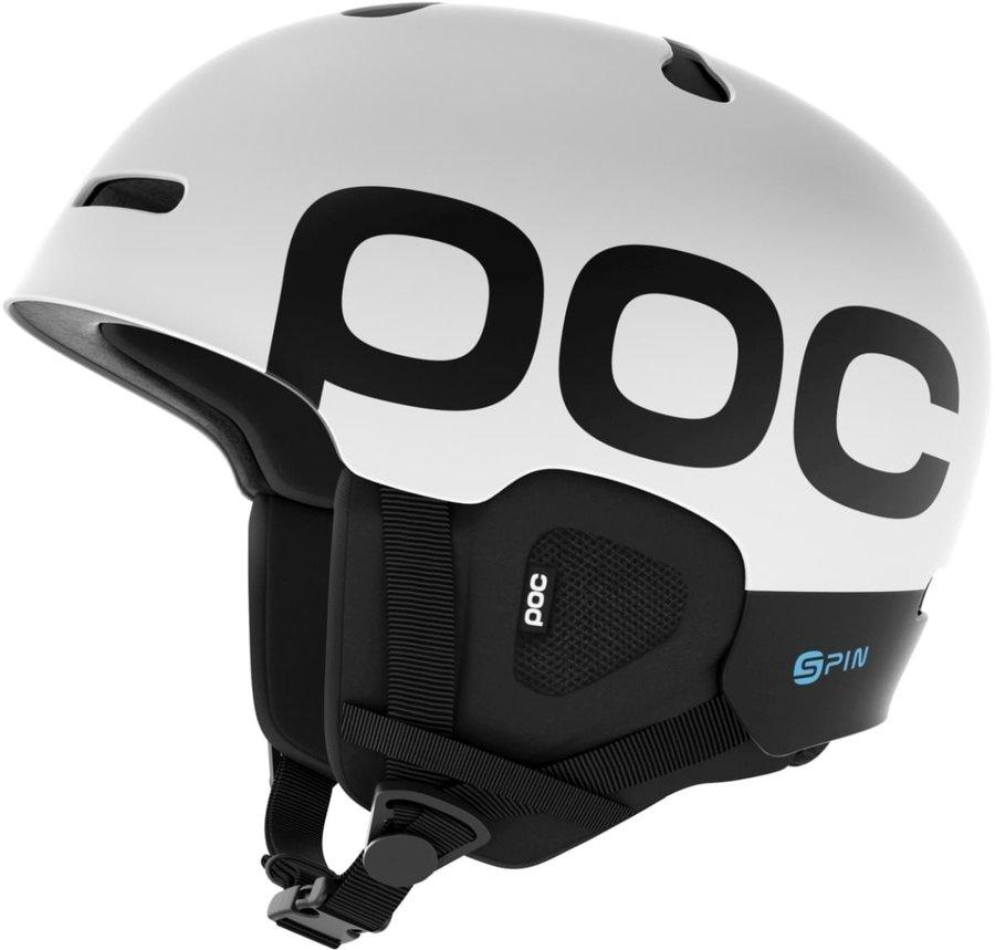 Bílá lyžařská helma POC - velikost 51-54 cm