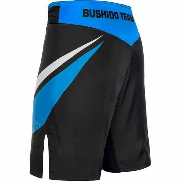 Černo-modré MMA kraťasy Bushido - velikost XL