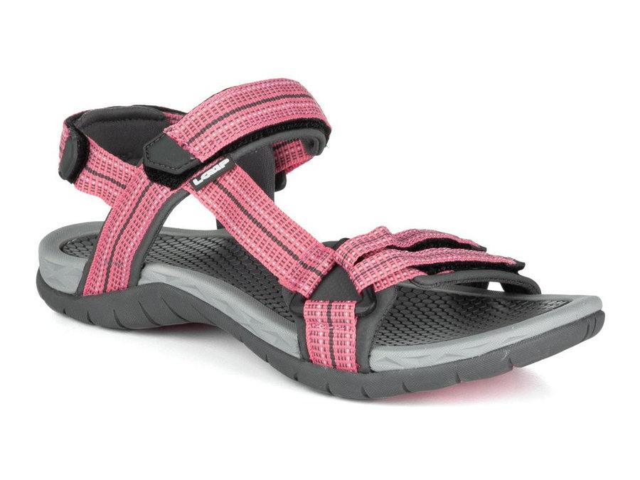 Růžové dámské sandály Loap - velikost 36 EU