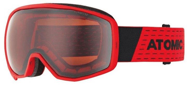 Červené lyžařské brýle Atomic