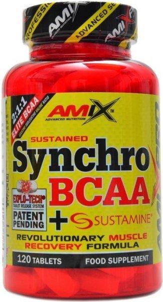 BCAA - Synchro BCAA + Sustamine tabletová verze - Amix 120 tbl