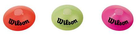 Různobarevný tréninkový kužel Wilson - 6 ks
