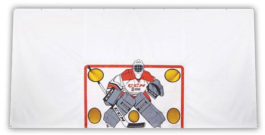 Střelecká hokejová plachta