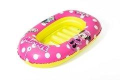 Růžový dětský člun Bestway - délka 112 cm a šířka 71 cm